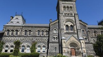 The University of Toronto ranks high on world university ratings lists.