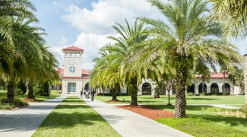 Saint Leo Main Entrance