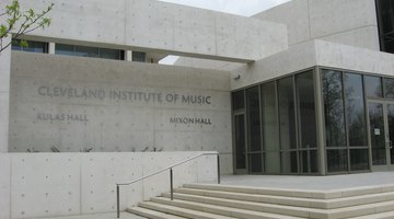 The new East Boulevard entrance of the Cleveland Institute of Music, Cleveland, Ohio, designed by Charles Young.