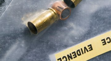 Forensic firearms identification involves the analysis of bullets found at crime scenes.
