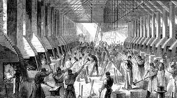 Immigrants often worked in overcrowded, unsanitary factories.