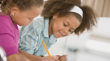 Give children the format for writing a paragraph to promote success.