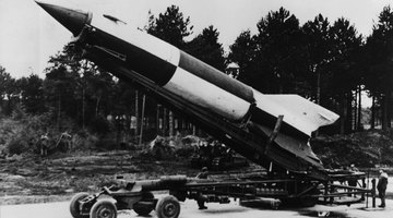 The German V-2 missile.