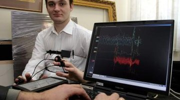 Polygraph examiners interpret readings from polygraph machines.