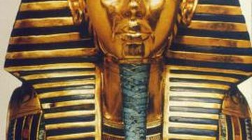 Tutankhamen's funerary mask is one of the most recognizable Egyptian treasures.