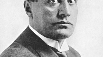 Benito Mussolini (1883 - 1945) spearheaded the Italian Fascist party, which quickly became synonymous with totalitarianism and oppression.