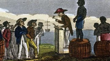 Many slaves were brought from Atlantic islands to the Americas.
