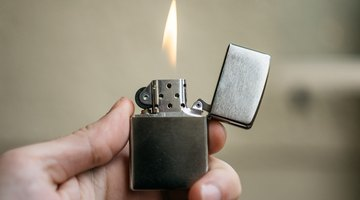 What Temperatures Do Lighters Burn At?