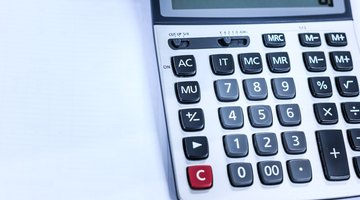 How to Work Out a Percentage Using a Calculator