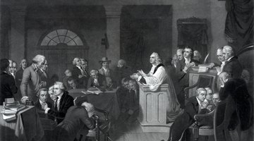 What Document Was Sent to the King by the First Continental Congress?