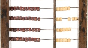 The abacus was used to teach arithmetic.