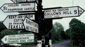 Gaelic and English have little in common, so translating Gaelic names can be difficult.