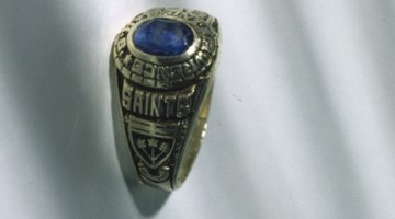 A class year is often displayed on the class rings purchased by students at the time of graduation.