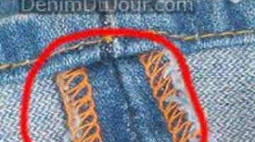 Quality overlock stitching
