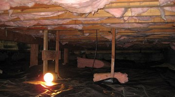A dark, cramped crawl space can be converted to a basement to expand your living space.