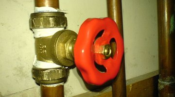 A main pressure valve is located between this