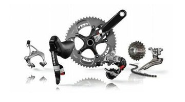 All the small components of a bike can be bought in a kit.