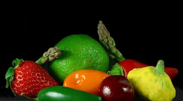 Fruits and vegetables are important for people with meningiomas.