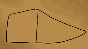 The basic frame of the shoe.