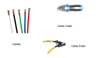 Know the difference between a cable cutter and a cable puller.