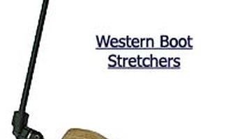 Cowboy boot stretcher