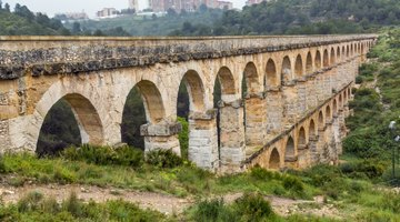 Roman aqueducts are still visible in Europe.