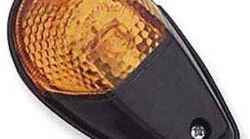 Close-up of headlight
