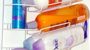 Personal care products can cause foam.