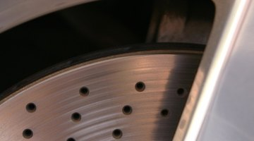 Close-up of an automotive wheel