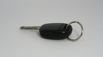 Keychain with remote control