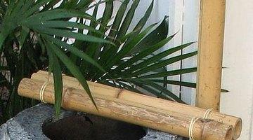 Bamboo fixture.