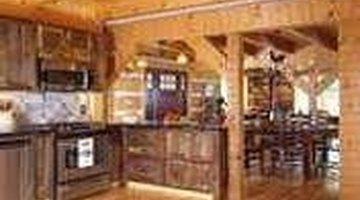 Old barn wood home