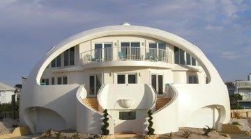 This monolithic dome survived a hurricane.