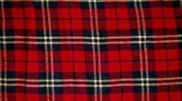 Bring in a bold plaid fabric or a family tartan.