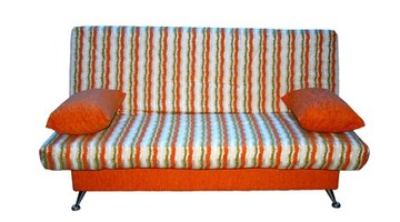 Turn the sofa cushion cover inside-out to repair.