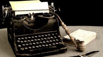 How to Operate a Panasonic Typewriter