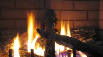 How to Convert a Fireplace From Decorative to Functional