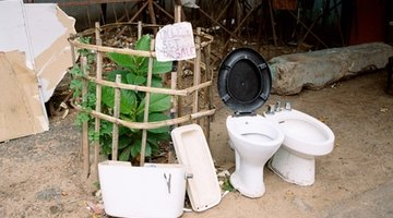 New toilets are cheap to buy.