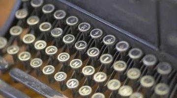 How to Clean Old Manual Typewriter Keys