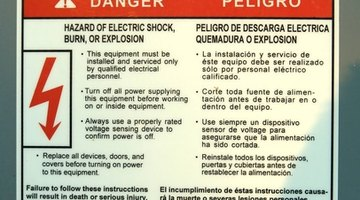 Follow safety guidelines.   Electricity can injure or kill.