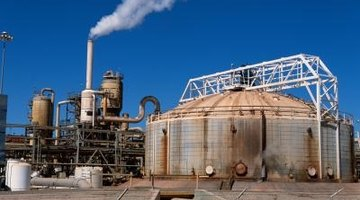Power plants can damage and pollute the environment.