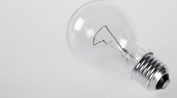 A 65-watt light bulb uses about 541 milliamps, or half an ampere.