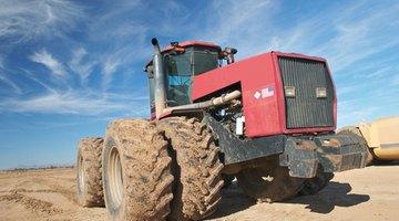Dual wheel tractor