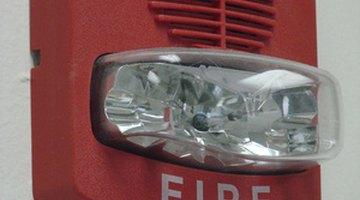 Fire Alarm Horn and Light