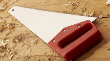A newer model of a saw