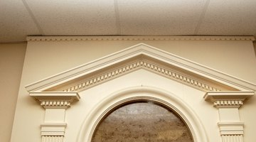 Pediment may even be featured inside buildings.