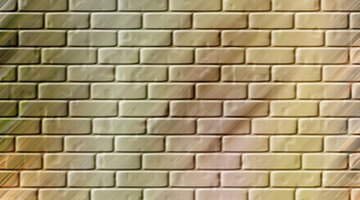 Grout color can be the same color of brick or a contrasting color.