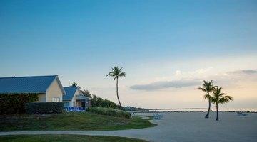 Calm morning beach view at Key Largo, Florida
