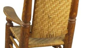 Your split-bottom chair is ready for relaxing evenings on the porch.