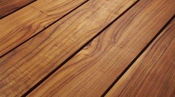 Teak wood table.